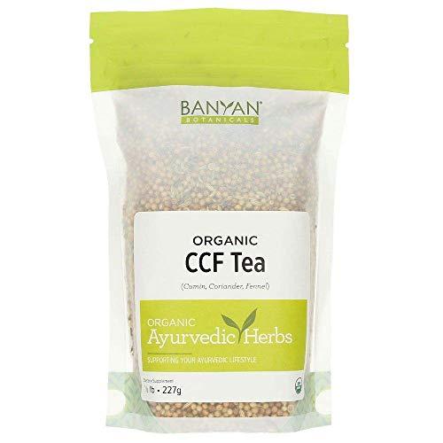 Banyan Botanicals CCF Tea (Cumin, Coriander, Fennel) - USDA Organic - Digestive Tea to Support Natural Detoxification (1/2 lb)