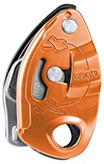 Belay device with assisted braking, for a broad range of single rope diameters (8.5 to 11 mm), designed for the experienced belayer Belay device with assisted braking, compatible with a broad range of single rope diameters, for both gym and crag Exce...