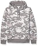 Amazon Essentials Hooded Fleece Sweatshirt Fashion-Hoodies, Camuflaje Gris, US XXL (EU XXXL-4XL)