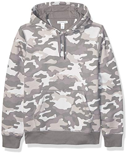 Amazon Essentials Hooded Fleece Sweatshirt Fashion-Hoodies, Camuflaje Gris, US XXL (EU XXXL-4XL)