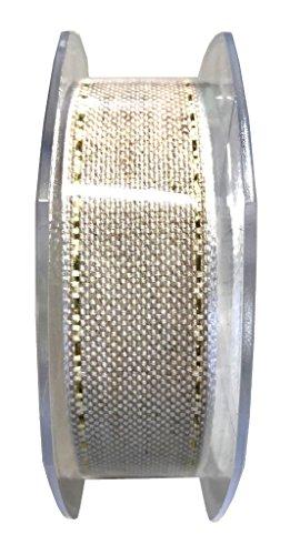 Furlanis Nastro Lino e Canapa con impuntura, 26mm x 10m
