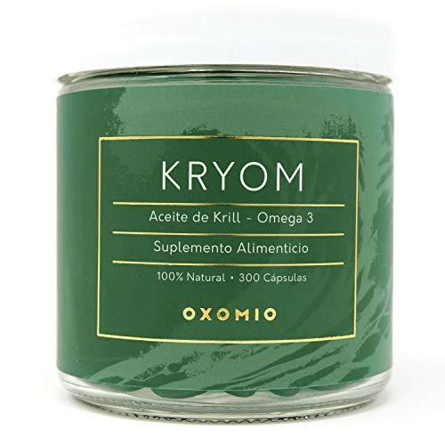 Kryom de Oxomio - Aceite de krill puro en cápsulas Omega 3 (300 cápsulas)
