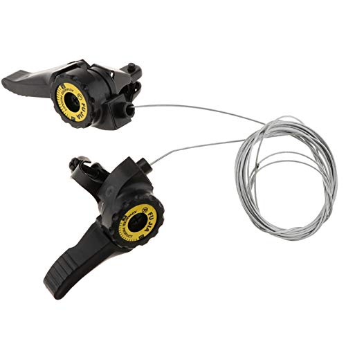 LRJBFC 1 par 3x5 / 6/7 Velocidad MTB MTB Thumb Shifter Top...