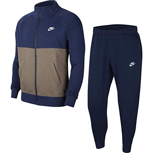 Nike M NSW Sce TRK Suit FLC Jogging & Sportbekleidung Herren Blau - XS - Jogginganzüge