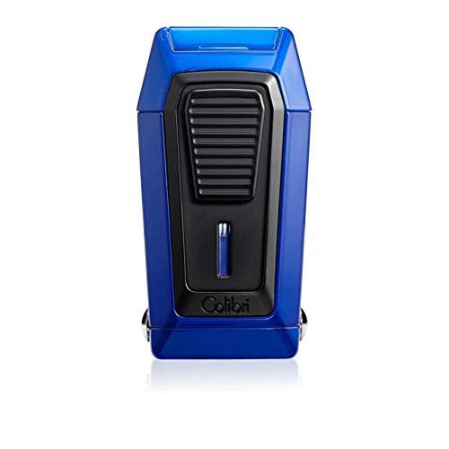 Colibri Quantum Triple Jet Lighter with V-Cutter Blue Black LI970C5