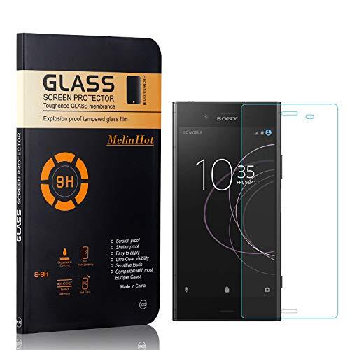 MelinHot Displayschutzfolie für Sony Xperia Z4 Compact, Anti Kratzen, Keine Luftblasen, Ultra Dünn 9H Schutzfolie aus Gehärtetem Glas für Sony Xperia Z4 Compact, 2 Stück