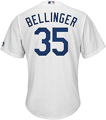 Outerstuff Cody Bellinger Los Angeles Dodgers Infants White Home Cool Base Replica Jersey (12 Months)
