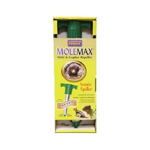 Price comparison product image Bonide 61118 Battery Operated MoleMax Sonic Spike