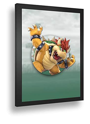 Quadro Decorativo Poste Super-Smash-Bros-Ultimate-Bowser