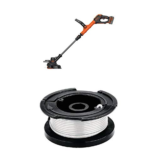 Best Bargain BLACK+DECKER LSTE523 20V MAX Lithium POWERCOMMAND Easy Feed String Trimmer/Edger and 30...