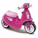Correpasillos Scooter rosa con ruedas silenciosas (Smoby 721002)