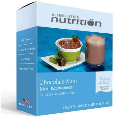 Nutmeg State Nutrition High Protein Meal Replacement Weight Loss