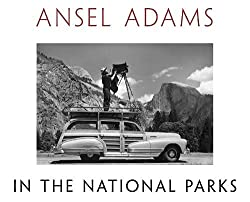 "Cover of Ansel Adams' ""In the National Parks."""