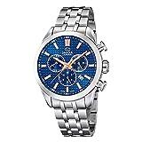 JAGUAR Reloj Modelo J865/2 de la colección ACAMAR, Caja de 43 mm Azul con Correa de Acero para Caballero