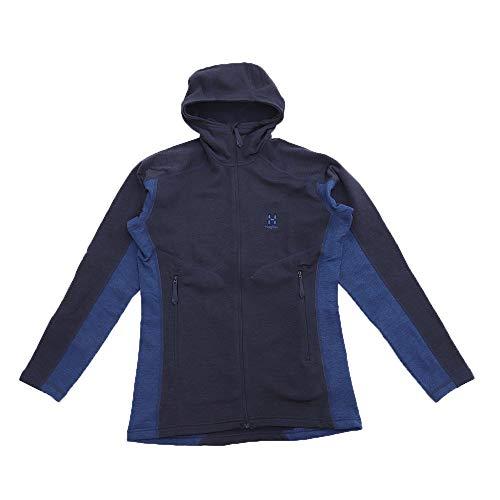 Haglöfs Heron Hood Couche intermédiaire, Bleu (Tarn Blue/Cobalt Blu), Taille S Homme