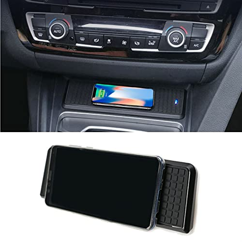 LOVELIN Lovelin17 Ajuste para BMW 3 Series F30 F31 F82 F32 F34 F36 Coche Qi Qi Cargador inalámbrico Módulo de Carga rápida Módulo de Tapa para iPhone para iPhone (Color Name : For 4 Series F32 F36)