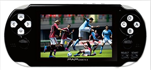 DXL Console di Gioco Portatile, Console di Gioco retrò Sistema OpenDingux Tony con Scheda 32G TF 3000 Giochi Classici, Console di Gioco Portatile Schermo TFT da 4,3 Pollici Supporta l'uscita HDMI