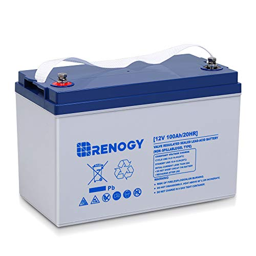 Renogy Deep Cycle Hybrid Gel 12 Volt 100Ah Battery