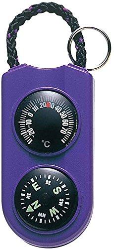 ENPEX(エンペックス) アナログ温度計・コンパス サーモ&コンパス パープル FG-5126