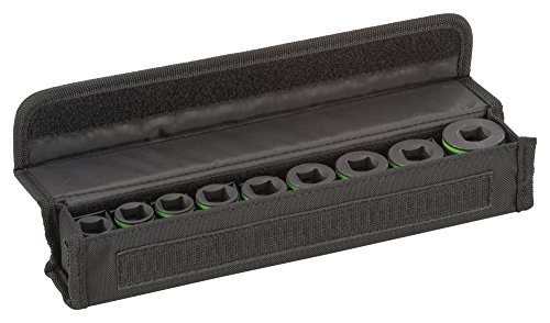 """Bosch ProfessionalPro 9tlg. Steckschlüsseleinsätze-Set mit 1/2\""""-Innenvierkantaufnahme für Sechskantschraubenn (Länge: 38 mm)"""