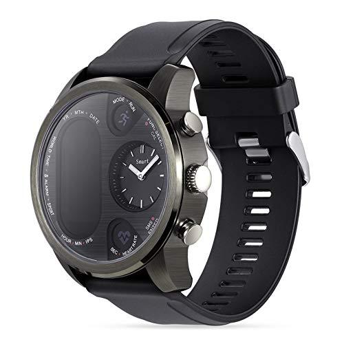 Orologi intelligenti per uomo donna, orologio fitness tracker con cardiofrequenzimetro del sonno, schermo touchscreen da 0,96 pollici, contapassi impermeabile IP68, orologio intelligente per t