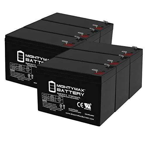 4 Pack Brand Product Mighty Max Battery 12V 22AH SLA Compatible Battery for APC SU3000RM SU3000RMNET
