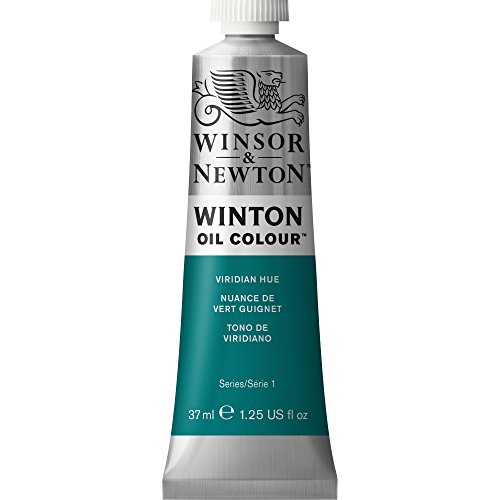 Winsor & Newton Winton Oil Color Paint, 37-ml Tube, Viridian Hue
