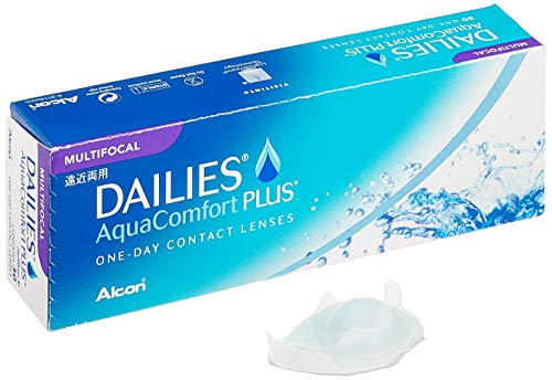 Alcon Ciba Vision Dailies AquaComfort Plus Multifocal Tageslinsen weich, 30 Stück / BC 8.7 mm / DIA 14 / ADD LOW / +6 Dioptrien