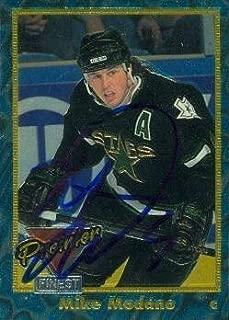 Mike Modano autographed Hockey Card (Minnesota North Stars) 1994 Premier #6 - Autographed Hockey Cards