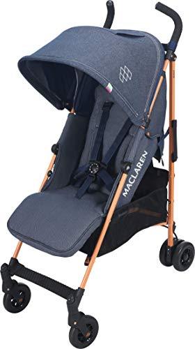 Maclaren Quest Buggy – Voll ausgestattet, leicht und kompakt. Newborn Safety System™ und kompatibel mit Maclaren Babywannen, ausziehbare UPF50+/wasserdichte Haube, Zubehör in der Box