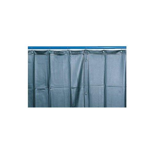 Donkergroen mat lassen gordijn schaduw 9, H 2800 mm x B 1300 mm