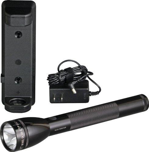 Mag-Lite ML125-35014F oplaadbare led-zaklamp, tot 193 lumen incl. elektronisch Multifunctionele schakelaar en NiMH-batterij.