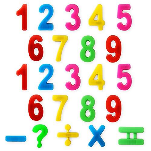Juego Educativo con Números Magnéticos | Aprende Matemáticas Jugando | Los Niños podrán Sumar Restar Dividir y Multiplicar | Regalo Original Infantil y Divertido con Números y Colores con Imán