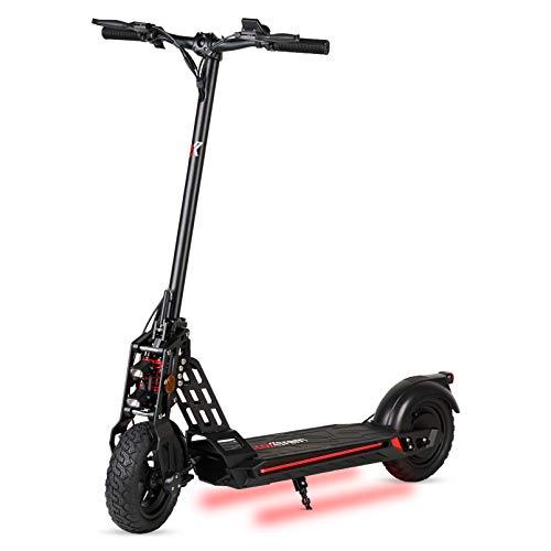 ECOXTREM Patinete eléctrico 600W, Plegable con Pantalla LCD y Luces LED. Scooter...