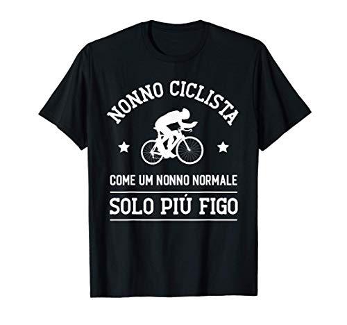 Uomo Nonno Ciclista Ciclismo Pensione Divertente Regalo Maglietta