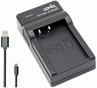 Lemix (LPE17) Cargador USB Ultra Slim para baterías Canon LP-E17 para Modelos (enumerados a continuación) Canon EOS EOS Rebel & Kiss …