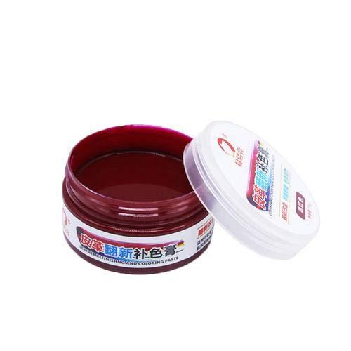 asterisknewly Leder Farbpaste Creme Farbwechselmittel Ledertasche/Lederschuhe/Ledersessel...