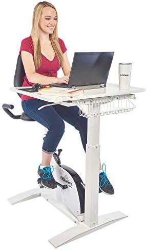 FitStudent Varsity Bike Desk Standing Desk Exercise Bike with 8 Position Magnetic Resistance product image