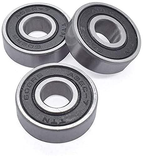 Buena estabilidad Accesorios de impresora 1/3/10 piezas 608RS Rodamiento 8 22 7 mm Patineta Scooter 608 RS Rodamiento de bolas Miniatura Patín Rodillo 608 RS Rodamientos Piezas de impresora 3D (Tamaño