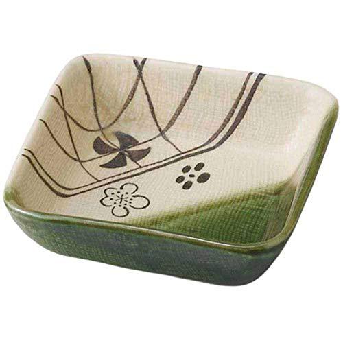 和食器 小鉢 小付/織部梅角中鉢/珍味鉢 陶器 業務用 家庭用 Small sized Bowl