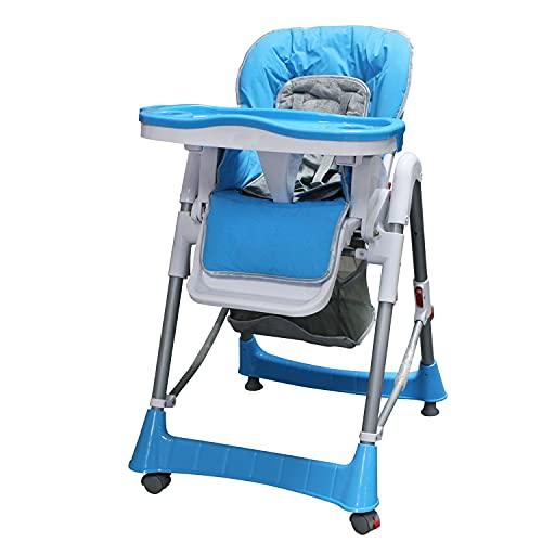 Sotech - Baby-Klappstuhl, Baby-Hochstuhl, Blau, Bereitgestellte Größe: 105 x 75 x 60 cm, Material: PP