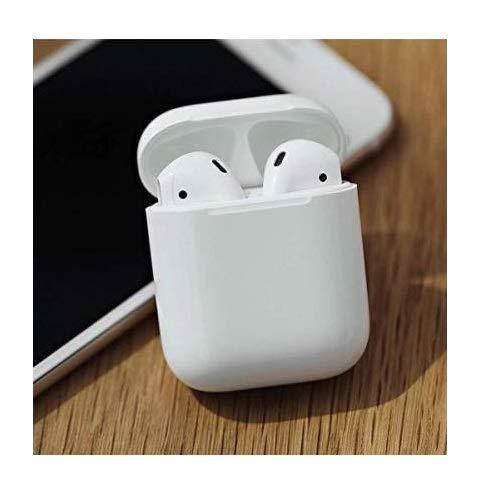 Alohomora Bluetooth Earphone with Portable Charging Case (White, True Wireless)