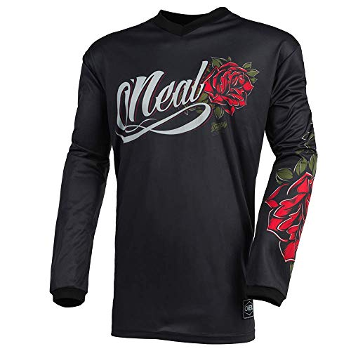 O'Neal Element Women´s Jersey Roses (Black/Red, XXL)