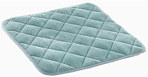 Cuscino da giardino Sedia cuscino Sedile Sedia Sedia Pastiglie Sedile Set Set di colori solido Sedia calda in tessuto flanellante, lavabile in lavatrice, for poltrona da pranzo ufficio cuscino for stu