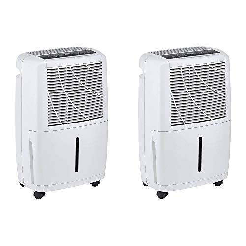 Haier 30 Pint 2 Speed Home Energy Star Portable Electronic Dehumidifier (2 Pack)
