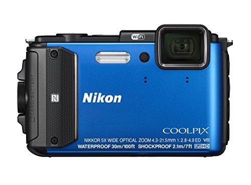 Nikon デジタルカメラ COOLPIX AW130 ブルー