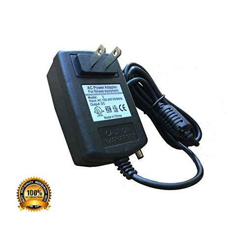 AC Power Supply Adapter for Nautilus R514 R514C R614 R616 R618 Recumbent Bikes