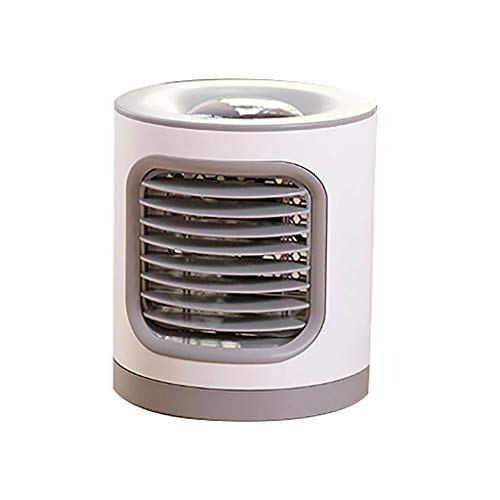 Personal Air Cooler - Personal Air Conditioner for Office Desk, Small Portable AC Air Conditioner - Mini Air Conditioner Room Cooler (Gray)