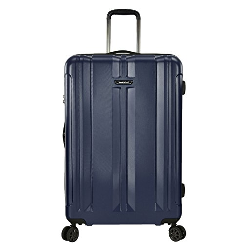 Traveler's Choice La Serena Polycarbonate Hardside Expandable Spinner Luggage, Navy