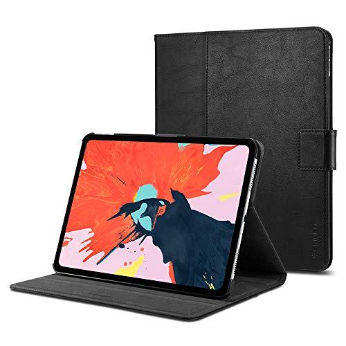 Spigen Stand Folio Compatible con iPad Pro 11 (2018) Funda - Negro